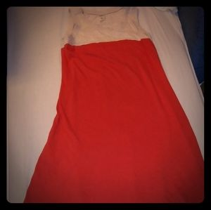 NOW Tan/Orange Women's Dress size 12